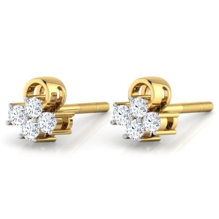 Evening Primrose Stud Earrings