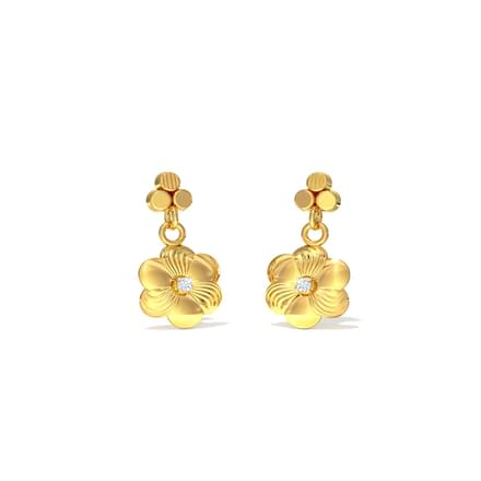 Gold Crush Earrings