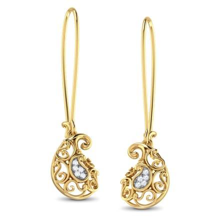 Ethea Paisley Earrings