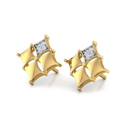 Four Square Earring