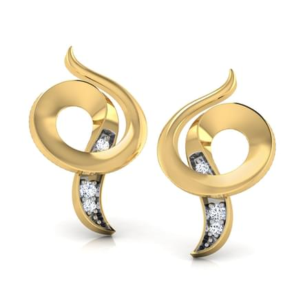 Curled Shell Earring