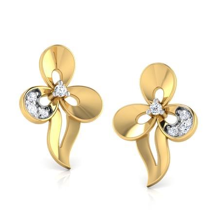 Elegant Trillium Earring