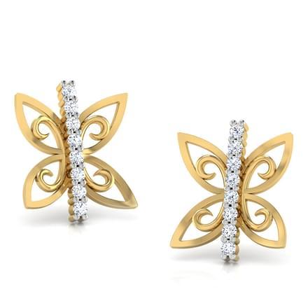 Twin Butterfly Earrings