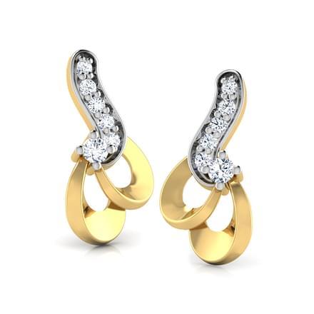 Trefoil Loop Earring