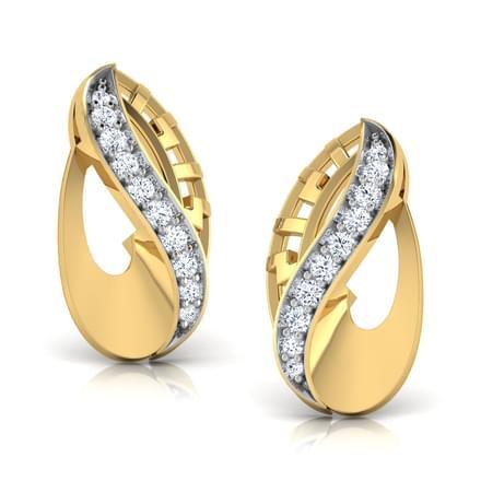 Curled Fortuna  Earring