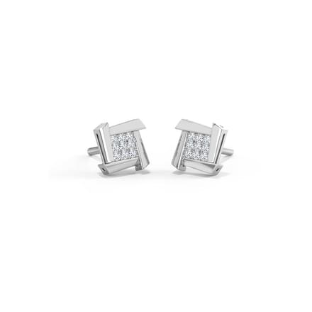Ludo Square Stud Earrings