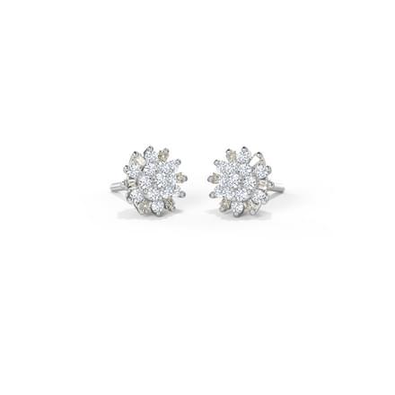 Jaze Cluster Stud Earrings