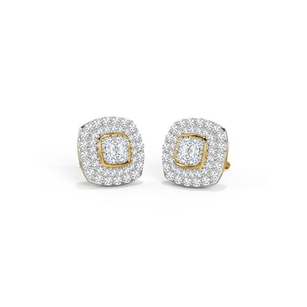 Gold And Diamond Earrings With Price