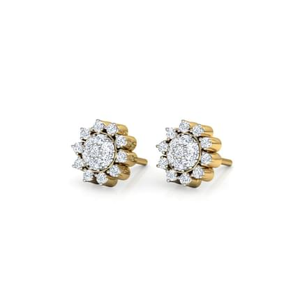Sun Cluster Stud Earrings