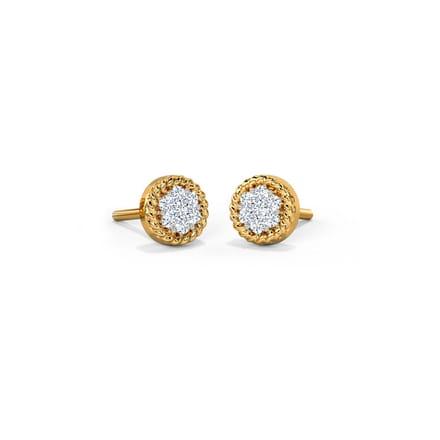 Eartha Cluster Stud Earrings