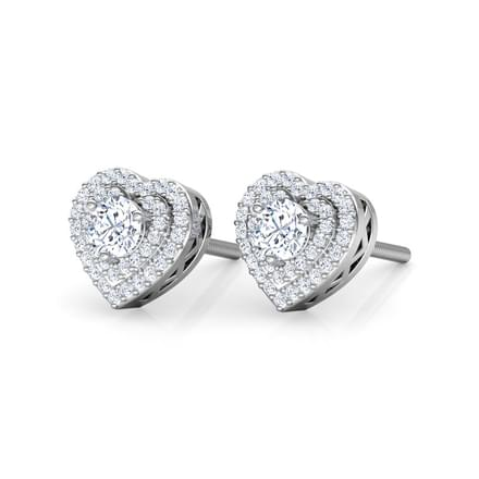 Lover's Stud Earrings
