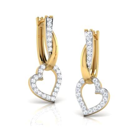 Jill Heart Earrings