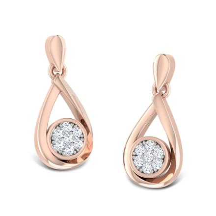 Starlet Diamond Stud Earrings