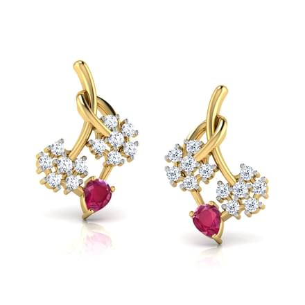 Twin Floral Studs
