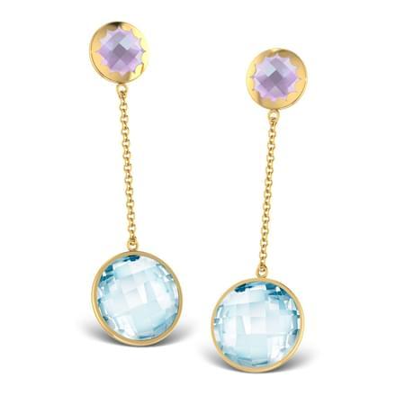 Gemstone Grace Earrings