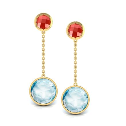 Elegant Gemstone Earrings