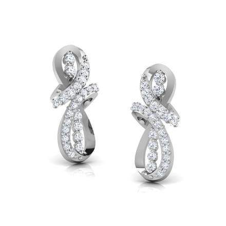 Infinity Knot Stud Earrings