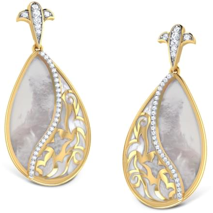 Vega Mother of Pearl Earrings