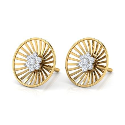 Roulette Stud Earrings