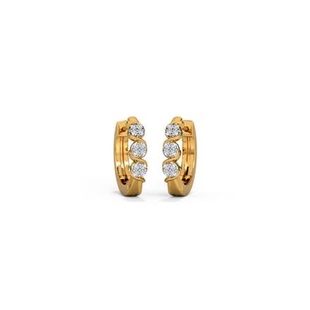 S Cluster Hoops Jewellery India Online Caratlane Com