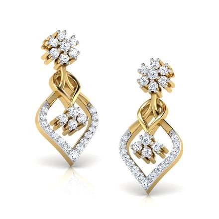 Camellias Drop Earrings