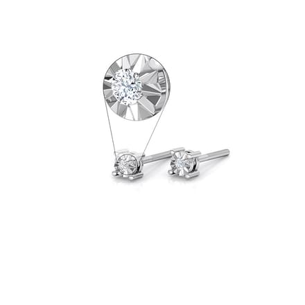 Emily Miracle Plate Stud Earrings