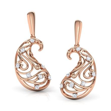 Omaira Paisley Earrings