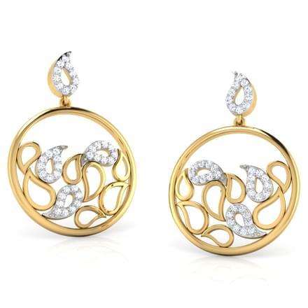 Rizwana Paisley Earrings