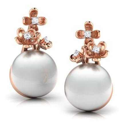 Bloom Pearl Earrings
