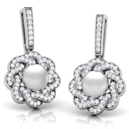 Garland Pearl Earrings