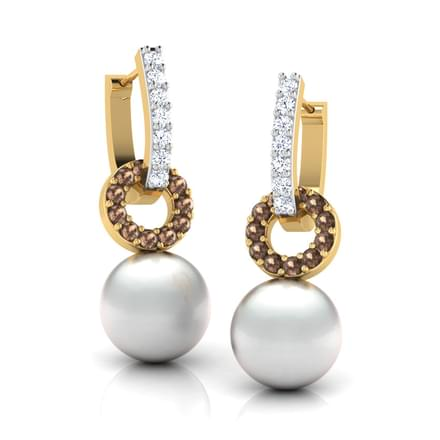 Circum Pearl Earrings