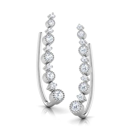 Dew Drop Ear Cuffs