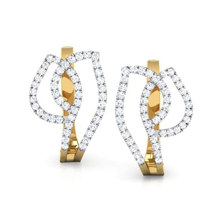 Emma Shimmer Hoop Earrings