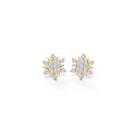 Adhira Cluster Stud Earrings
