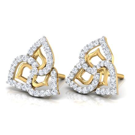 Lisa Petaled Stud Earrings