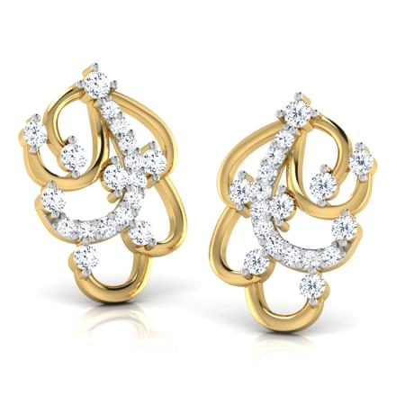 Missy Furl Stud Earring