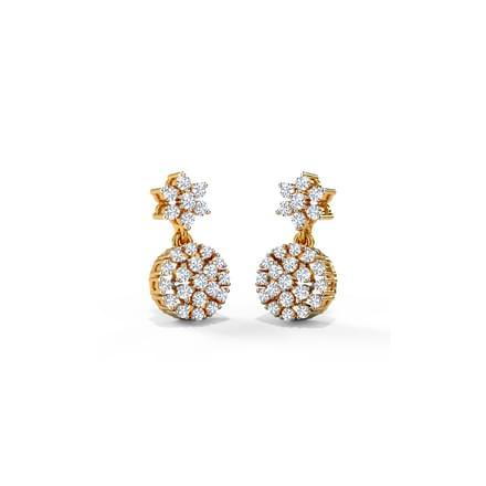 Celinda Cluster Drop Earrings