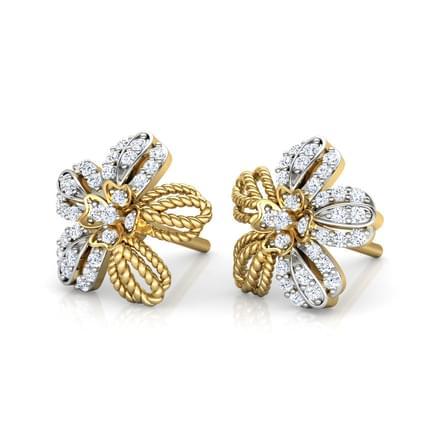Buttercup Flower Stud Earrings