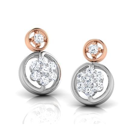 Anthia Circled Stud Earrings