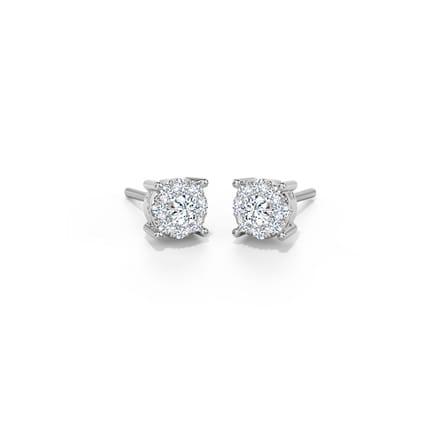 Iris Glam Stud Earrings