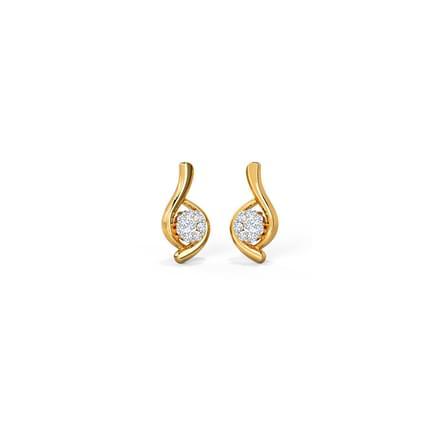 Eyelet Stud Earrings