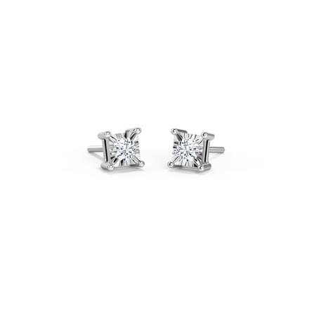 Tia Miracle Plate Stud Earrings