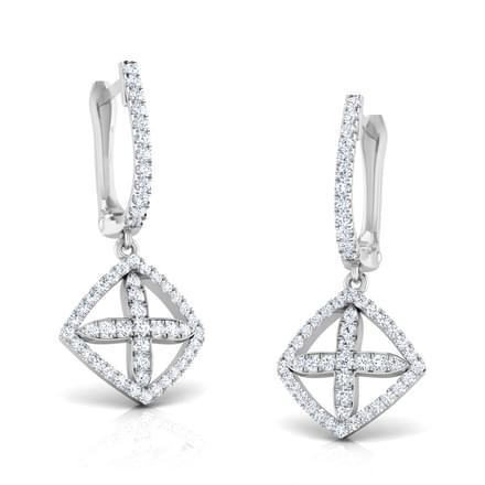 Albay Diamond Petalled Earrings
