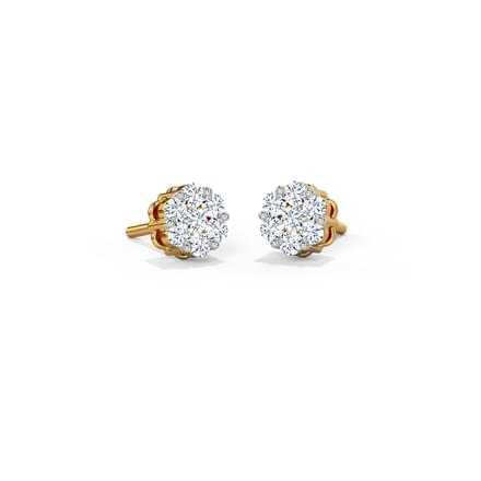 Layla Cluster Stud Earrings