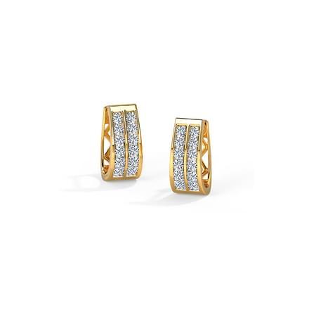 Nora 2-Row Glint Earrings