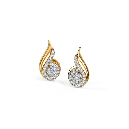 Carla Swirl Stud Earrings