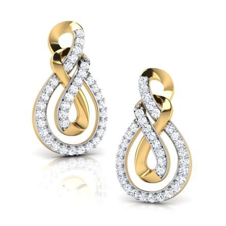 Ayla Double Knot Stud Earrings