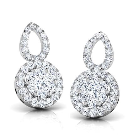 Cyra Cluster Stud Earrings