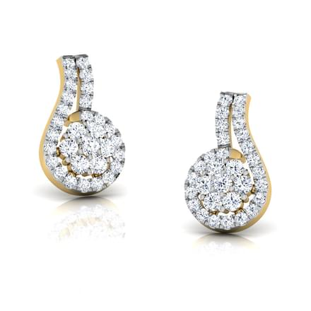 Ally Cluster Stud Earrings