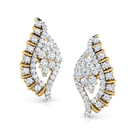 Jill Leafy Stud Earrings